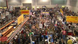 Gun Show Draws Thousands to Stock Up, Send a Message