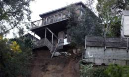 Laurel Canyon Blvd Closed Due to Patio Collapse