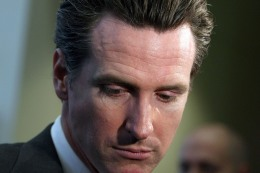 Newsom Lights Wildfire of Political Speculation