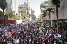750K Flock to Downtown LA for Women's March: Organizers