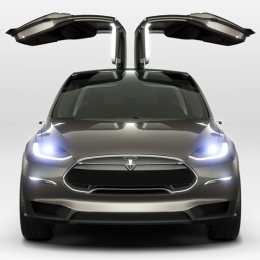 Tesla Unveils the Model X