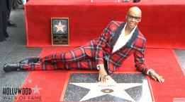 RuPaul Receives Star on Hollywood Walk of Fame