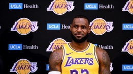 PHOTOS: Lakers Media Day With LeBron James in Uniform