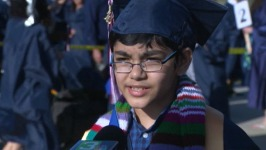 """This Isn't Much of a Big Thing For Me"": Boy, 11, Graduates From College"