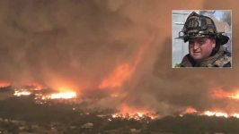 Firefighter Was Killed by Calif.'s Biggest Recorded Fire Tornado