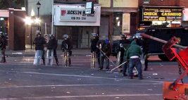 Citizens Clean Baltimore Streets After Riots
