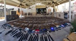 Photos: 553 Firearms Seized From Felon in Agua Dulce