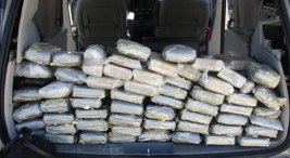 Pot Smuggled in Minivan