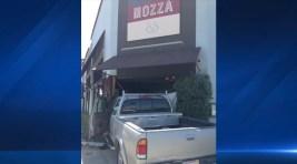 1 Injured When Truck Crashes Into LA Restaurant