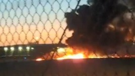 Pilot Killed in Fiery Small Plane Crash During Takeoff