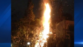 Fire Breaks Out at Disneyland