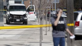 Toronto Van Rampage Suspect Charged With 1st-Degree Murder