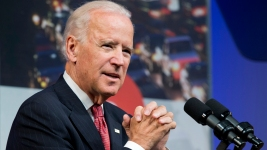 Biden Speaks at Naval Academy Graduation