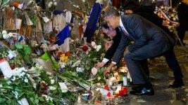 Obama Honors Paris Attack Victims at Bataclan