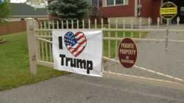 Maine Woman Prefers Jail to Taking Down Oversize Trump Signs