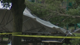 9 Hurt After Tree Struck by Lightning Falls on Tent in Pa.