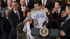 Cubs Arrive in DC for White House Visit