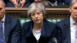 Read Theresa May's Statement on Defeat of Brexit Deal