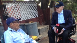 2 of Oldest Pearl Harbor Survivors Reunite