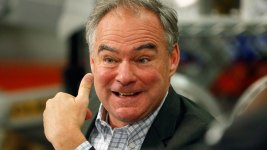 Tim Kaine Doesn't 'Buy' Trump's Immigration Positions