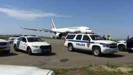 Air France Flight Escorted After Threat: FBI