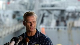 Navy to Relieve Vice Admiral of Command After Collisions
