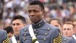 Haiti-Born Cadet Weeps at His West Point Graduation