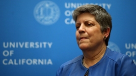 Janet Napolitano Hospitalized for Cancer Treatment