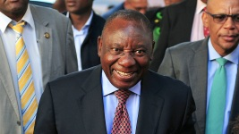 Ramaphosa Sworn in as the New South African President