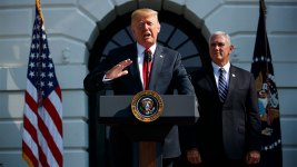 GOP Waits on Trump as Clock Ticks Toward Partial Shutdown