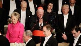 Trump, Clinton Trade Caustic Barbs at Charity Roast