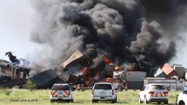 1 Hurt, 3 Missing After Fiery Train Crash in Texas