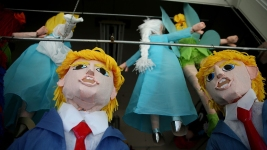Donald Trump Piñatas Take Over San Francisco's Mission District