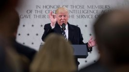 Trump Denies Fact That He Feuded With Intelligence Agencies