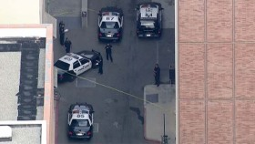 Authorities on Scene of Dead Body at UCLA