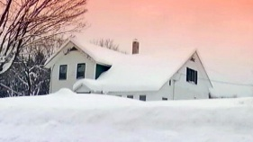 Small Town Gets Big Snow