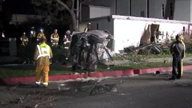 Car Crashes Into Culver City Church