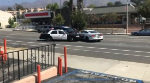 Shoplifting Suspect Rams Police Cars, Then Makes an Escape