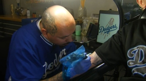 SoCal Tattoo Artist is the Go-to-Guy for Dodger Ink