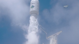 SpaceX Rocket Launches Carrying Satellites
