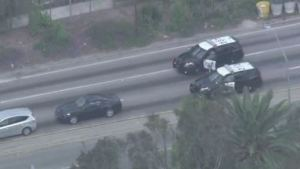 CHP Takes Driver Into Custody on Freeway Exit