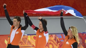 Dutch Win Another Gold in Men's Team Pursuit