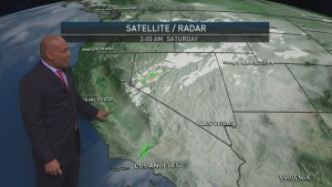 <p>Gusty Santa Ana winds are back, once again posing increased fire danger. Darren Miller has your First Alert Forecast on Saturday, Dec. 16, 2017.&nbsp;</p>