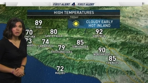 <p>The first weekend of summer is starting off foggy, but that should clear by the afternoon. Belen De Leon your First Alert Forecast on Saturday, June 23, 2018.&nbsp;</p>