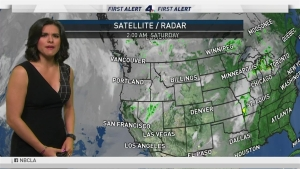 <p>There will be rain for the Memorial Day weekend. Belen De Leon has your First Alert Forecast May 25, 2019.</p>