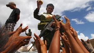 U.S. Aid Arrives for Desperate Typhoon Survivors