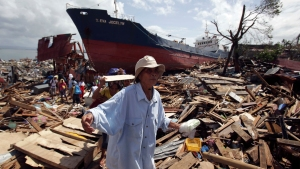US General Urges Typhoon Aid: A Week Will Be Too Late