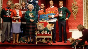 'Royal Family' Sports Ugly Christmas Sweaters for Charity