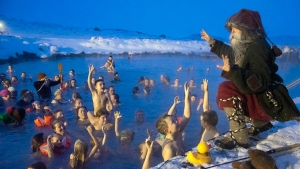Icelandic Kids Enjoy Fun, Frights From 13 Christmas Trolls