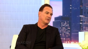Patrick Warburton on 'Harry'